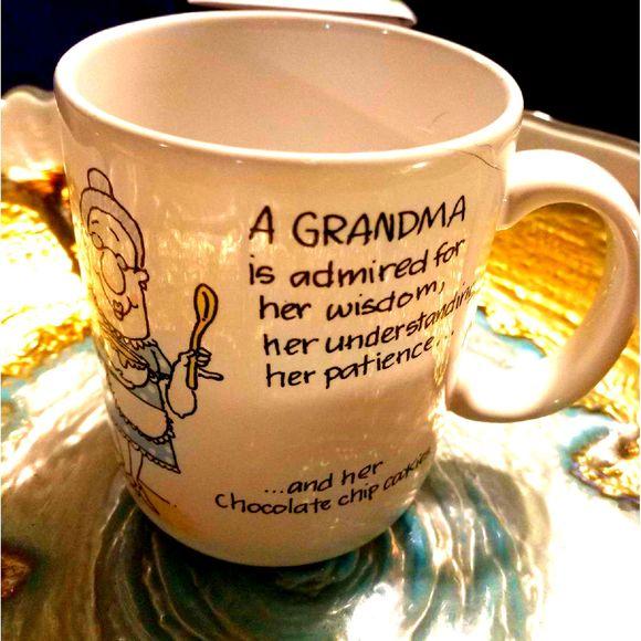 Vintage Other - Grandma's Wisdom/Patience Coffee Mug